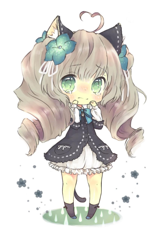 cute chibi girl