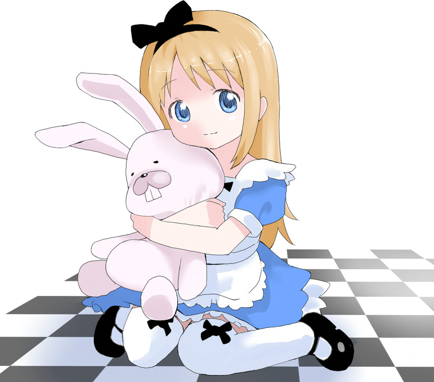 alice and ana coppola (alice in wonderland and ichigo mashimaro) drawn by puuyan