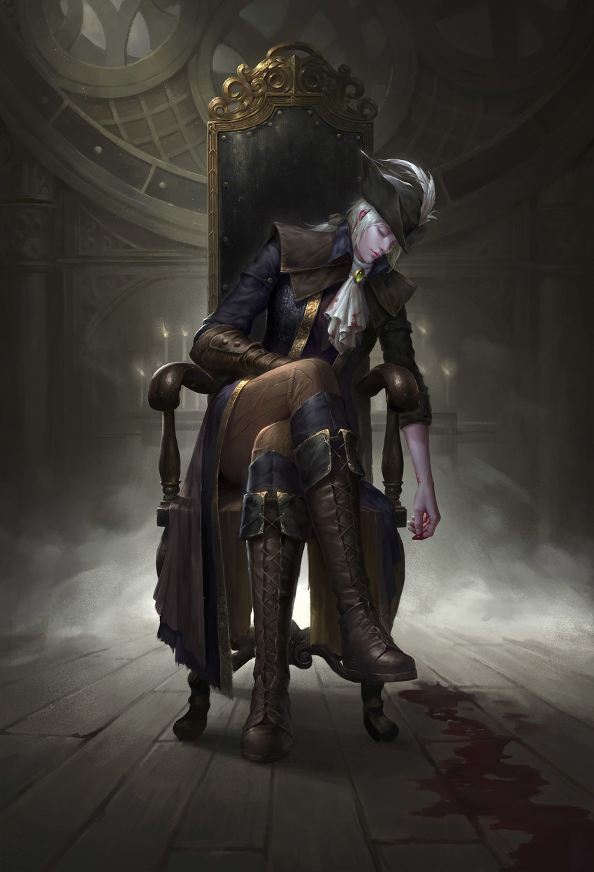 Lady Maria Of The Astral Clocktower Bloodborne And The