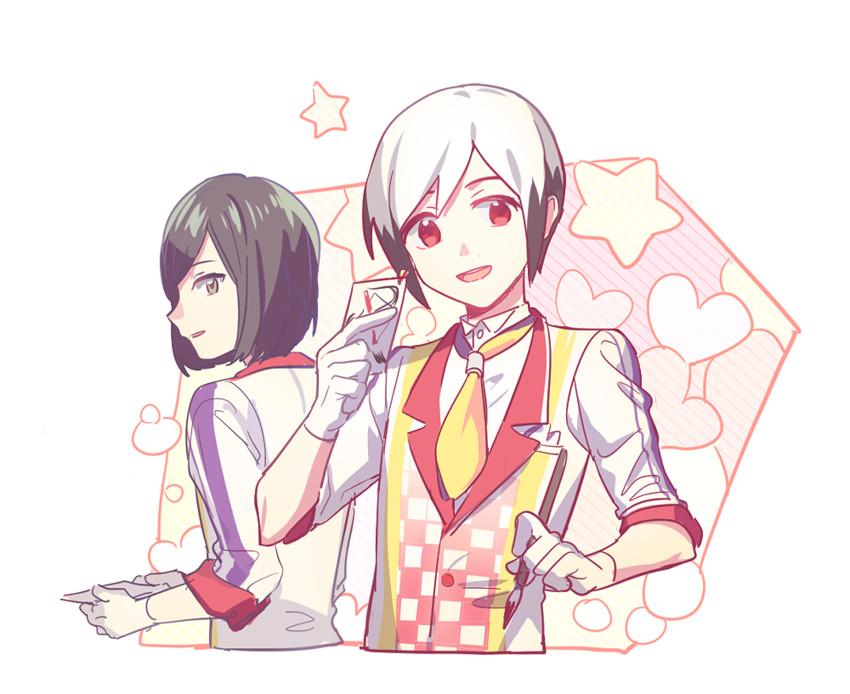kitamura sora and kiyosumi kurou (idolmaster and idolmaster side-m) drawn by mm (zzu3u)