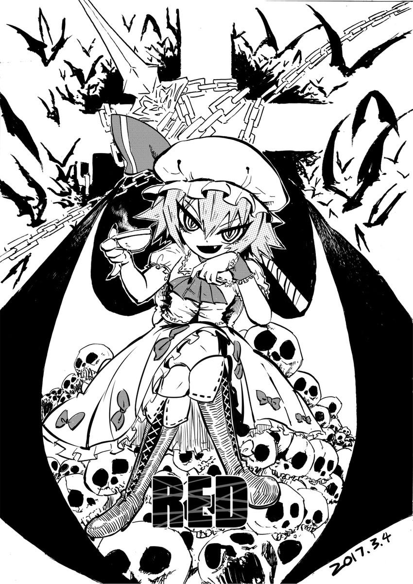 remilia scarlet (touhou) drawn by heran_hei_mao