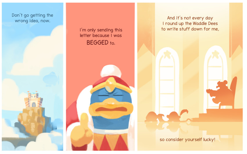kaboola, king dedede, and waddle dee (kirby (series)) drawn by peachifruit