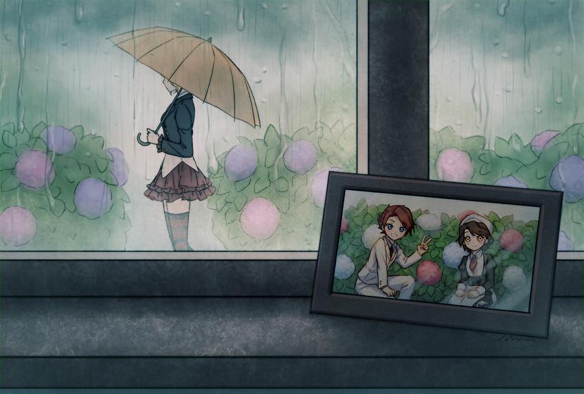beatrice, shannon, and ushiromiya battler (umineko no naku koro ni) drawn by aluce
