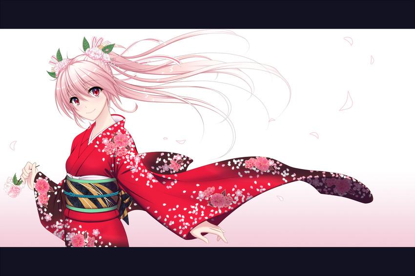 hatsune miku and sakura miku (vocaloid) drawn by oshou