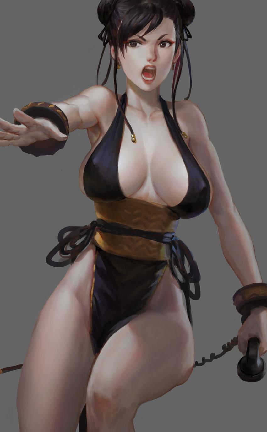 Street fighter iv chun li realistic nude  smut clip