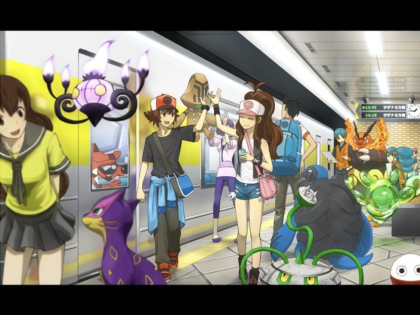 ace trainer (pokemon) | Page: 1 | Gelbooru - Free Anime