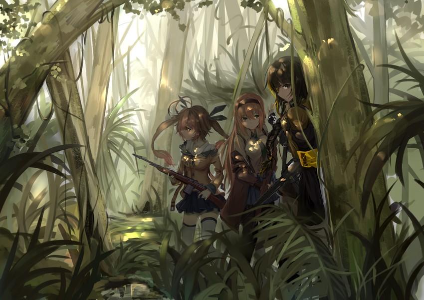 M14 M16a1 And M1 Garand Girls Frontline Drawn By Dark