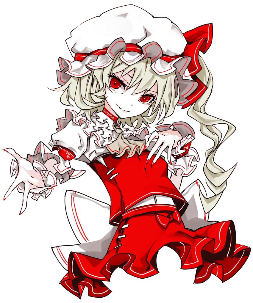 flandre scarlet (touhou) drawn by yutapon