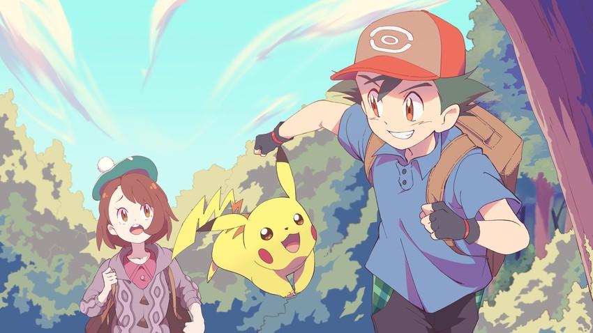 [Imagen: __pikachu_gloria_and_ash_ketchum_pokemon...8305b3.jpg]
