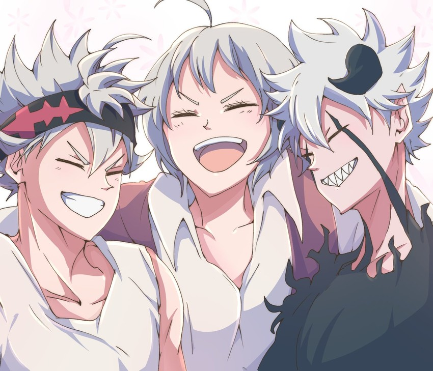 asta, liebe, and licita (black clover) drawn by jinguu_(timaya) | Danbooru