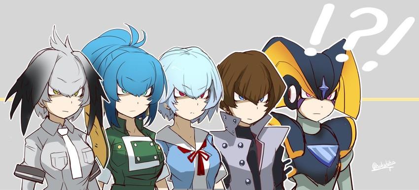 Ayanami Rei, Forte, Kaiba Seto, Leona Heidern, And