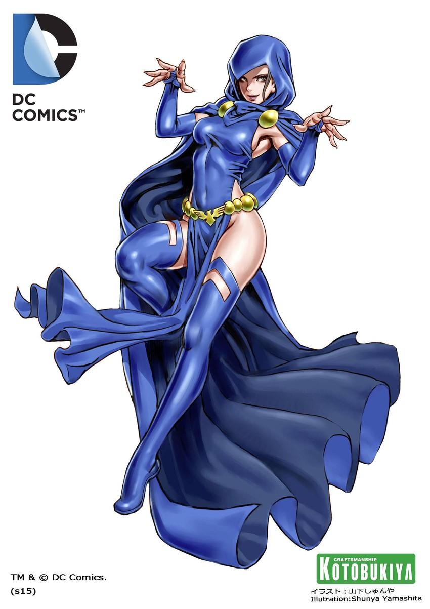 Raven Dc Comics And Teen Titans Drawn By Yamashita Shun Ya Danbooru
