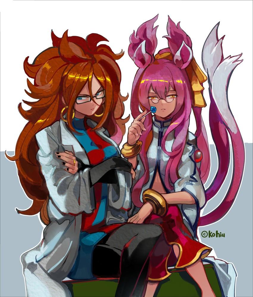 Dragon Ball Android 21: Android 21 And Kokonoe (arc System Works, Bandai Namco