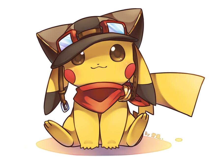 pikachu (pokemon) drawn by jimmy2929