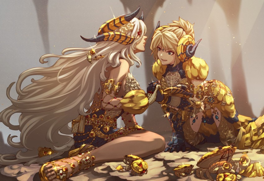 Kulve Taroth And Kulve Taroth Monster Hunter And 1 More Drawn By Kanrinin Gyfp4747 Danbooru Kushala α & β costs 16,000 per piece. kulve taroth and kulve taroth monster