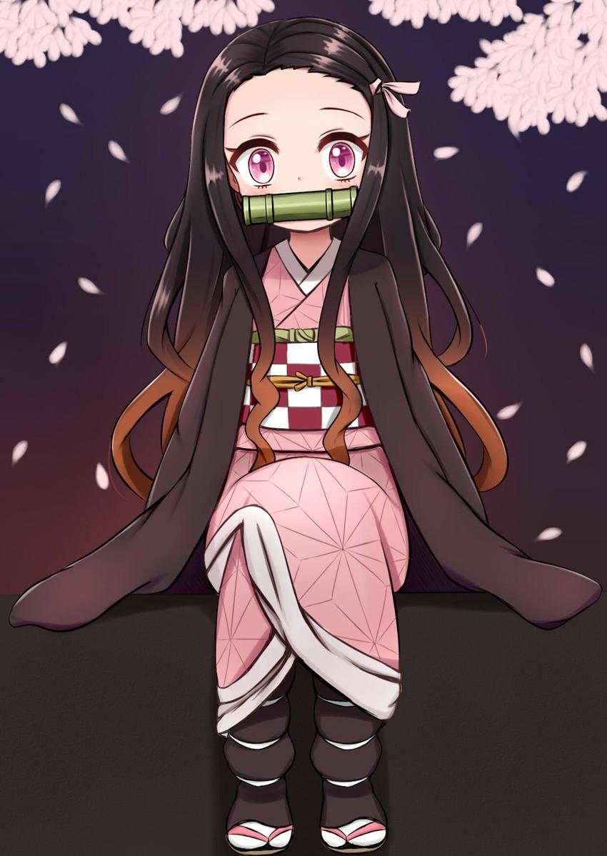 Kamado Nezuko Kimetsu No Yaiba Drawn By Jiu Sdesd3205
