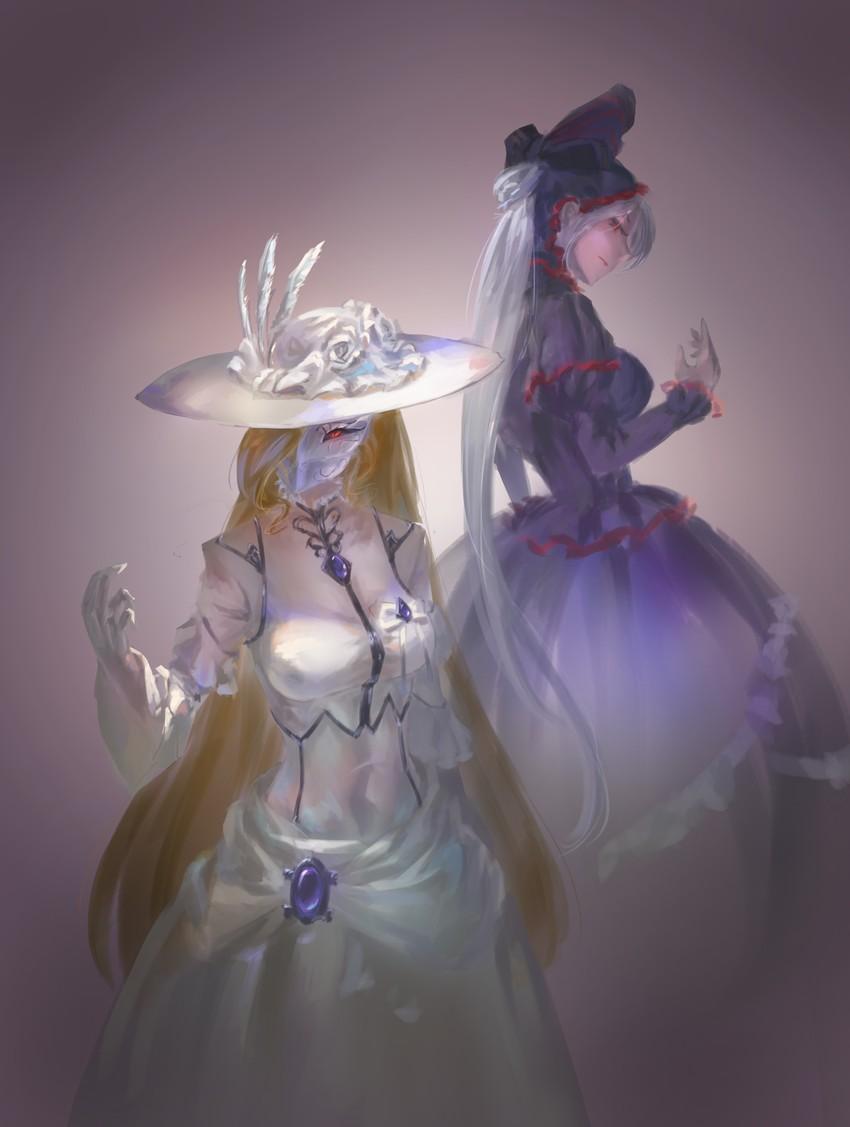 shalltear bloodfallen (overlord (maruyama)) drawn by song ren