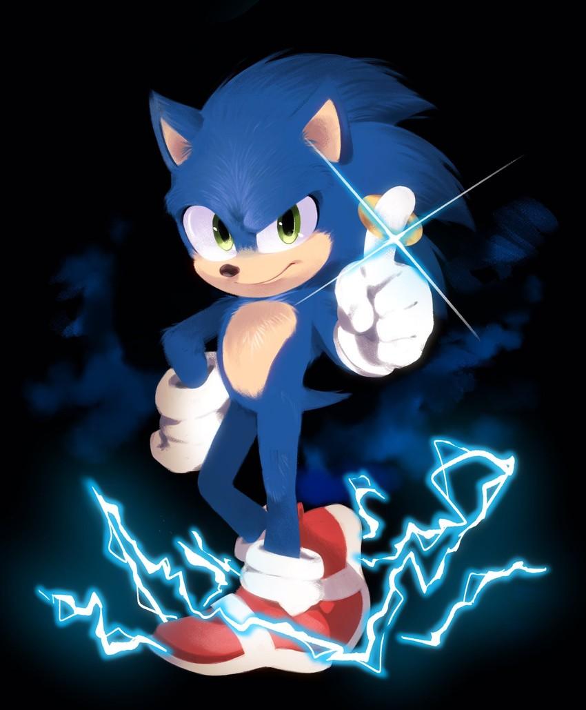 Sonic Sonic The Hedgehog And 1 More Drawn By Kohane01 Danbooru