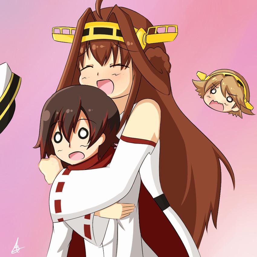 Female admiral hiei kongou and ruby rose kantai - Ruby rose rule 34 ...