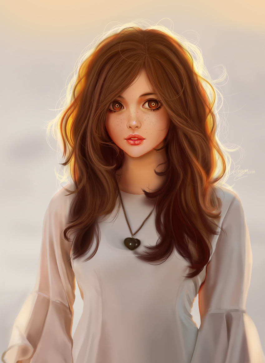 Фото девушек с каштановыми волосами и челкой