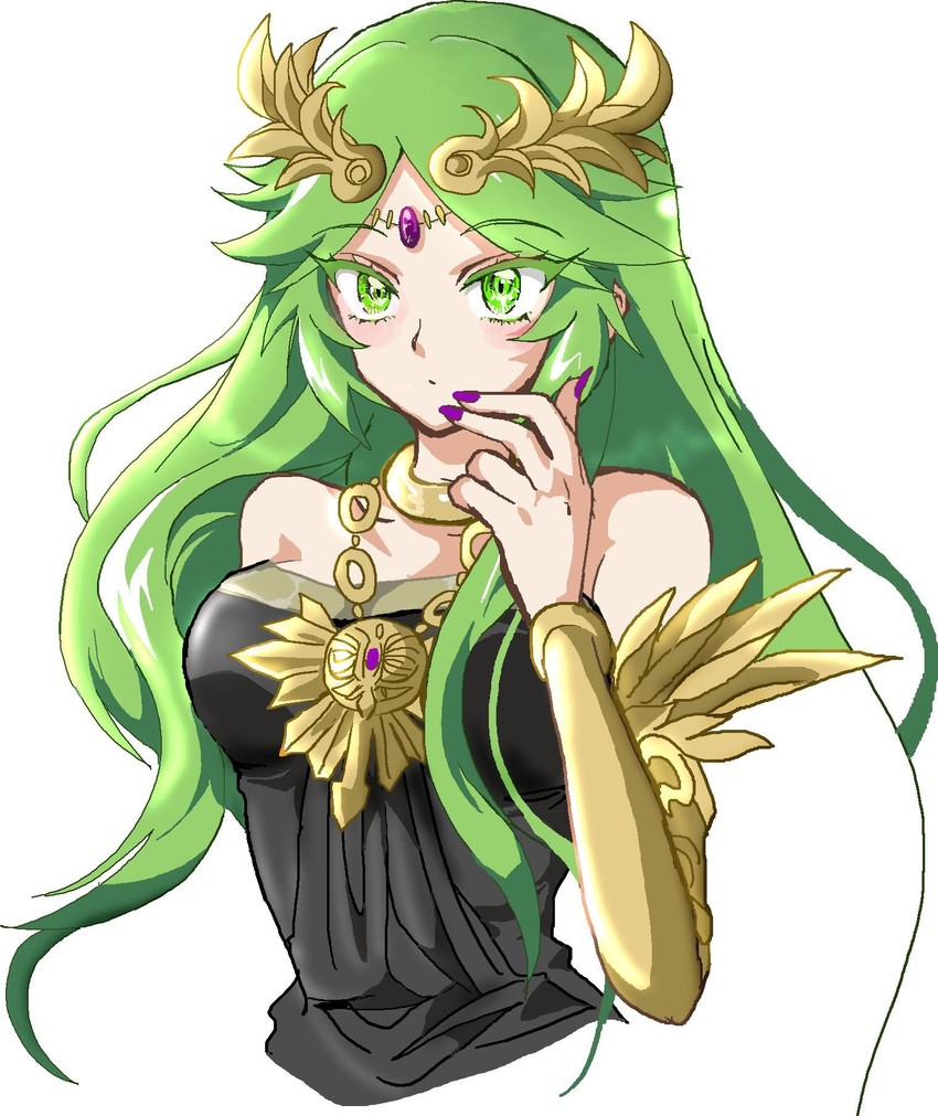 Palutena Kid Icarus And Kid Icarus Uprising Drawn By