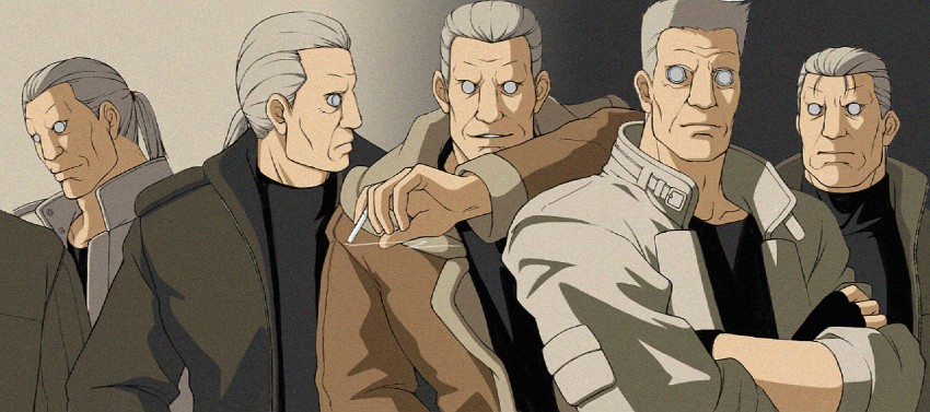 Batou Ghost In The Shell Drawn By Clifford Artist Danbooru