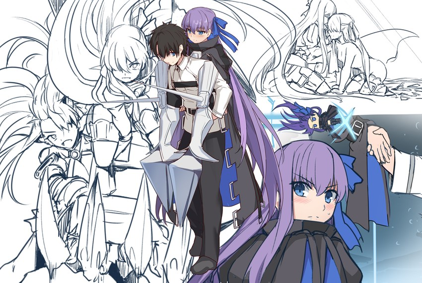 Fujimaru Ritsuka Meltryllis And Passionlip Fate And 3 More Drawn By Shiseki Hirame Danbooru Did you miss our pull stream for melt and passionlip on twitch? fujimaru ritsuka meltryllis and