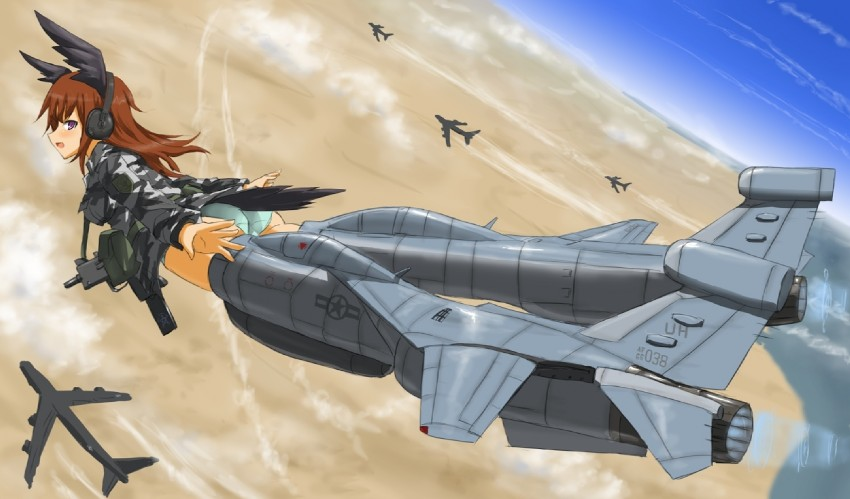 ef-111a (strike witches 1991 and world witches series) drawn by dakku (ogitsune)