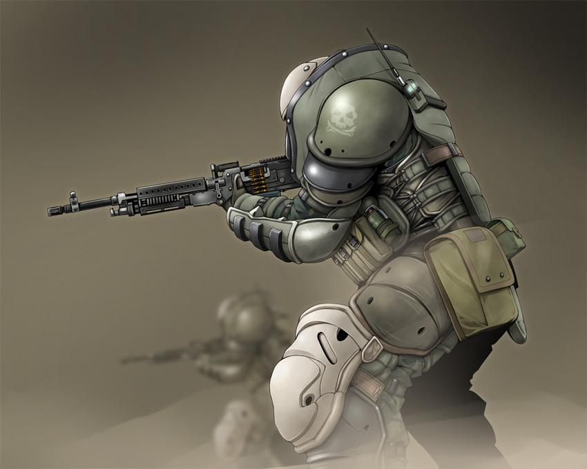 Juggernaut Call Of Duty And 2 More Drawn By Doku Hebi Danbooru