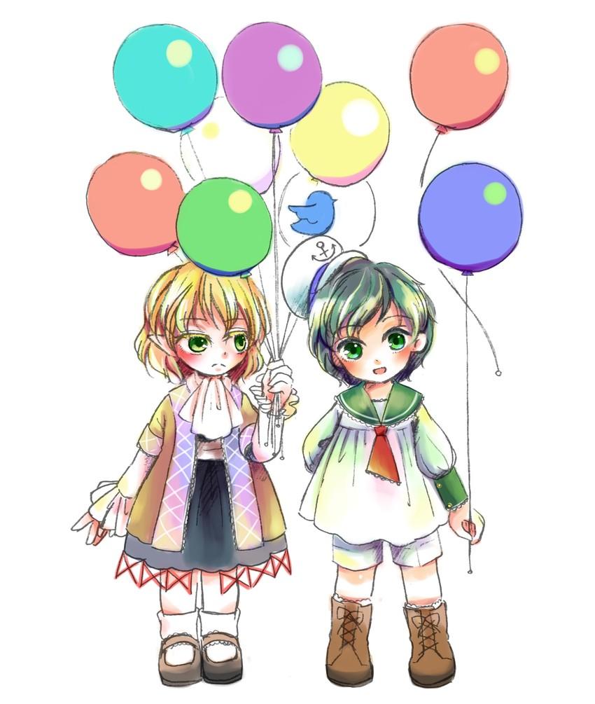 mizuhashi parsee and murasa minamitsu (touhou) drawn by aquanzu