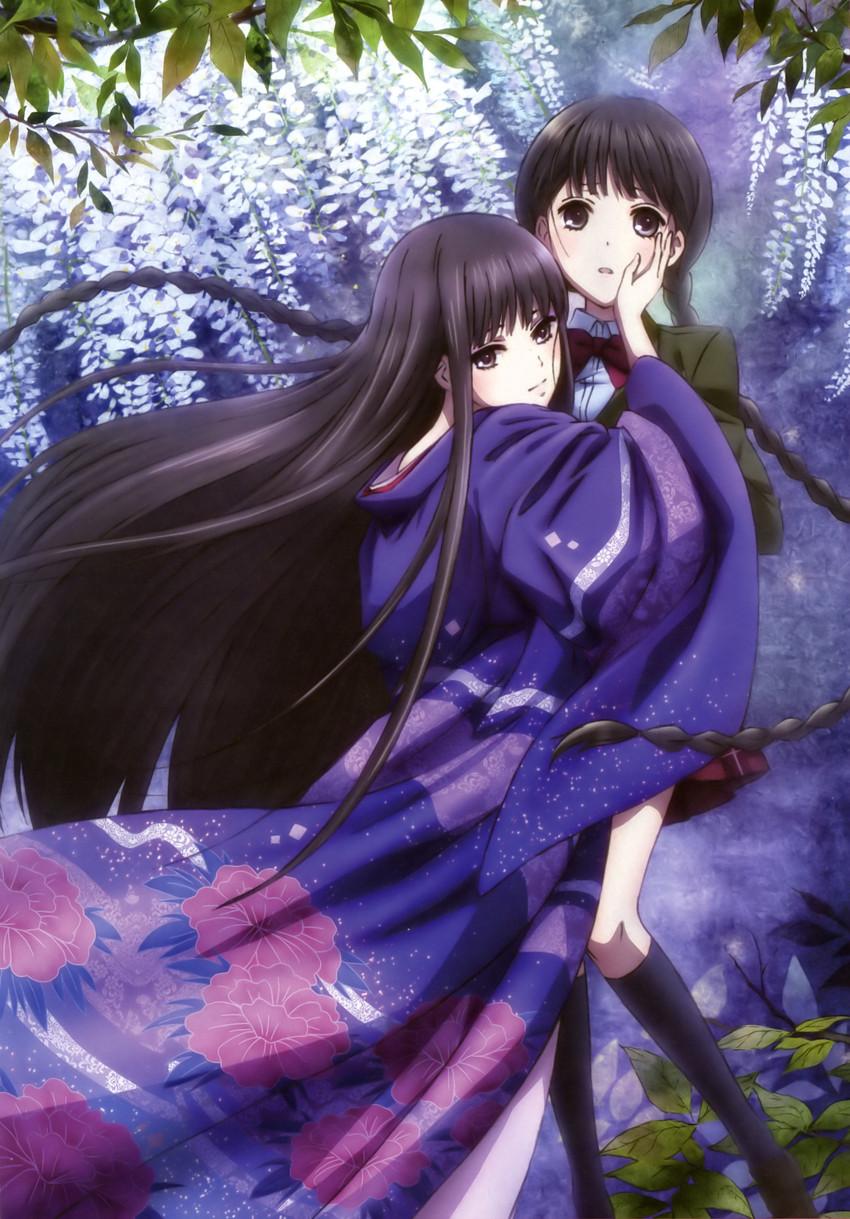 himegami and suzuhara izumiko (rdg red data girl)
