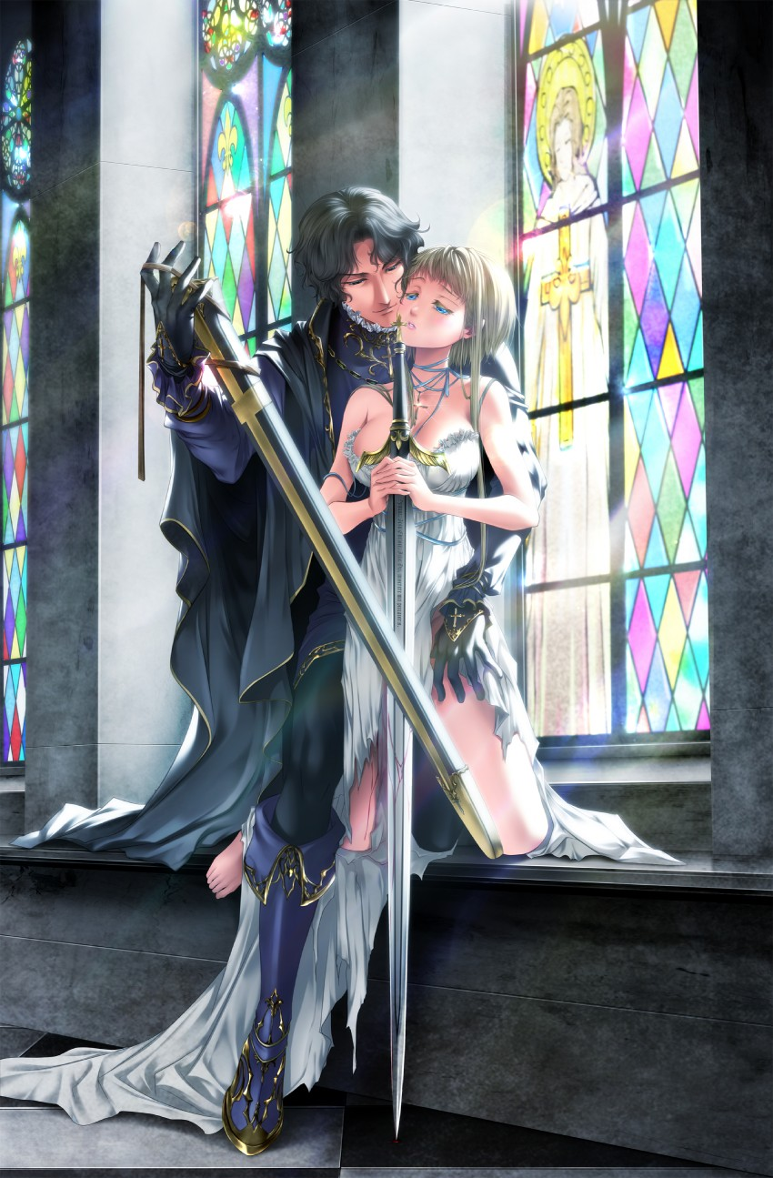 Gilles De Rais And Jeanne D Arc Real Life Drawn By Itto
