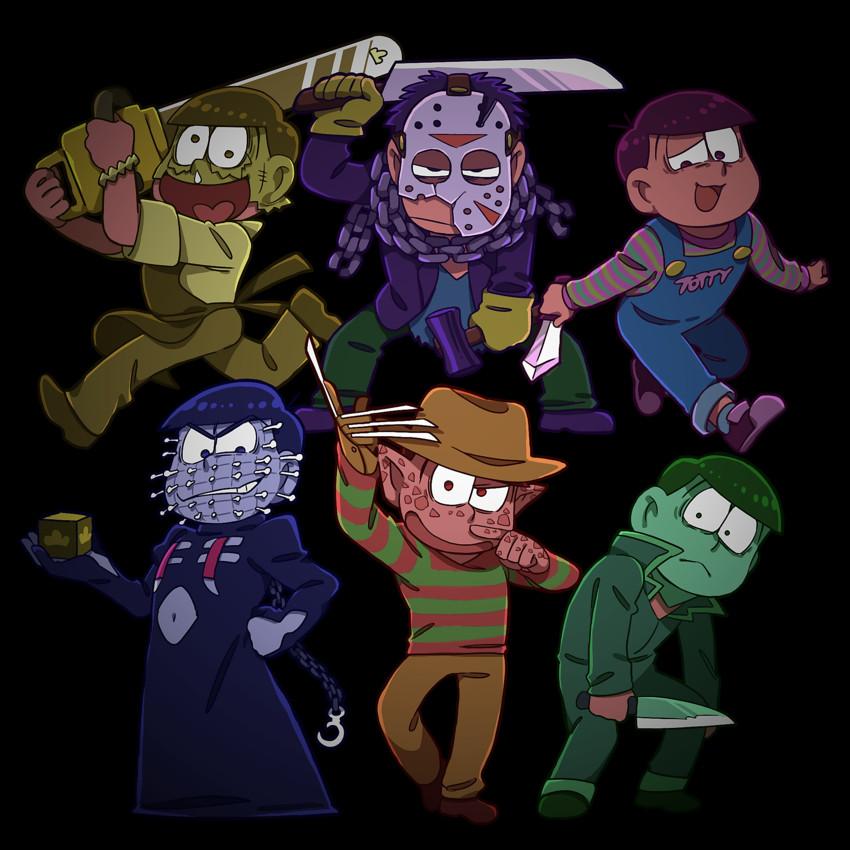 chucky, freddy krueger, jason voorhees, leatherface ... Freddy Krueger Vs Jason Vs Chucky Vs Scream Vs Michael