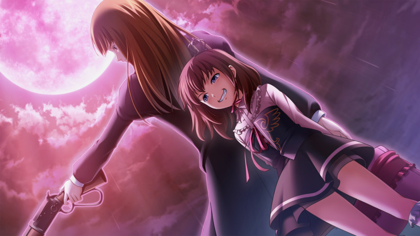 ushiromiya maria and ushiromiya rosa (twilight of the golden witch and umineko no naku koro ni)