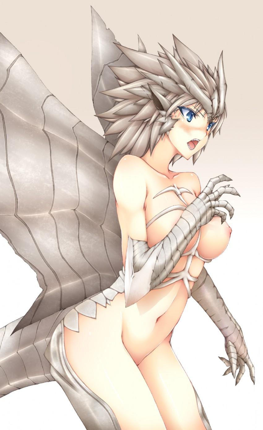 naked girls in monster hunter