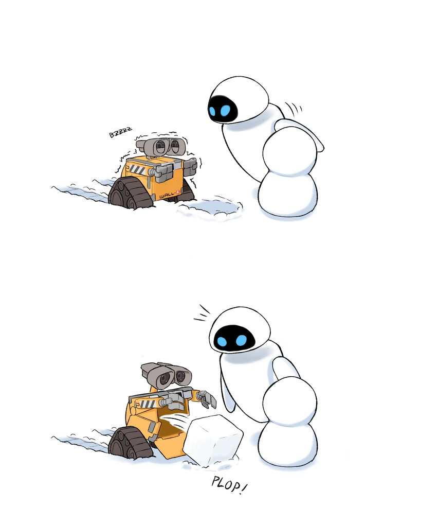 Image du jour - Page 8 __wall_e_and_eve_wall_e_drawn_by_roviahc__sample-8820919349cddfcfad370cf0fbdb120b
