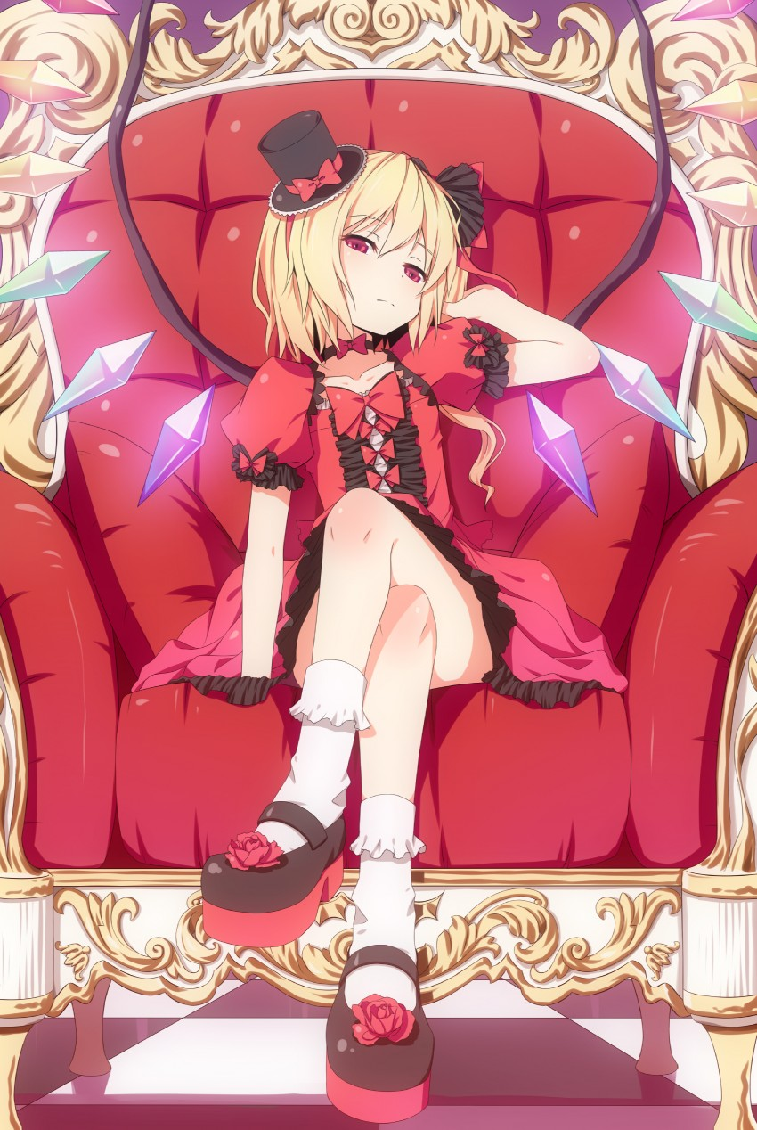 flandre scarlet (touhou) drawn by dinyc