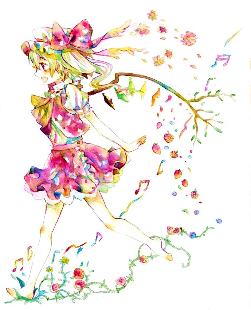 flandre scarlet (touhou) drawn by legomaru