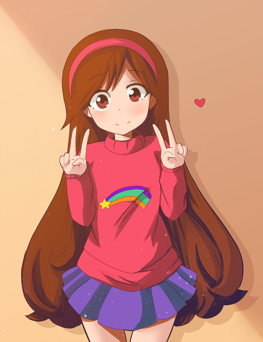 Gravity Falls Mabel Pines Cosplay Sweater Opening Credits