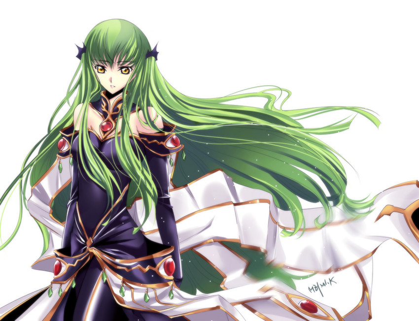 c.c. (code geass) drawn by meimi k