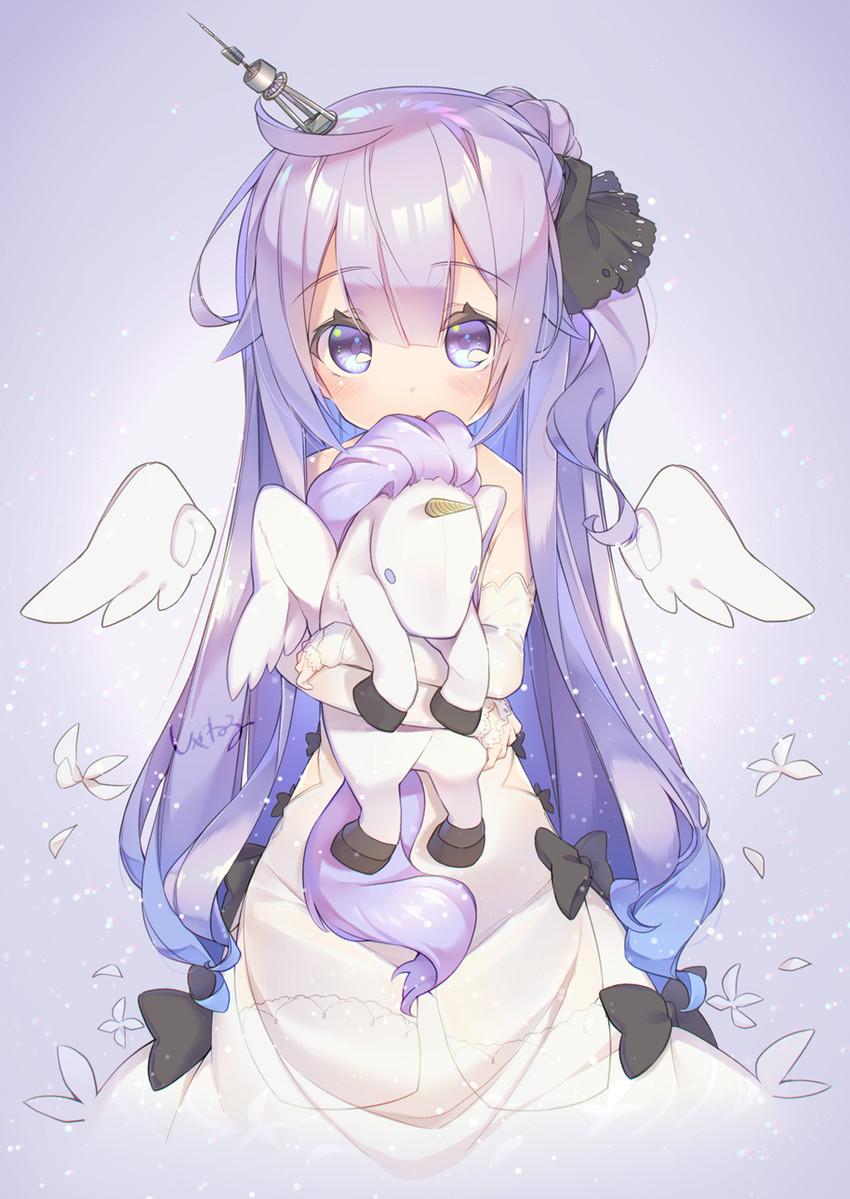 unicorn (azur lane) drawn by shaneru