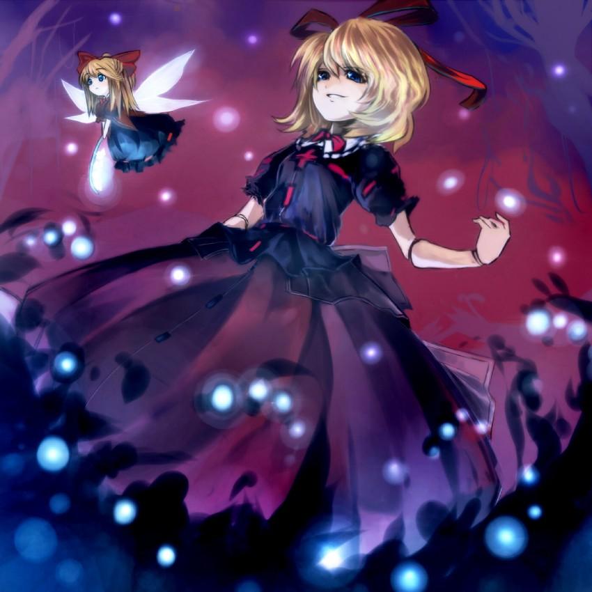 medicine melancholy and su-san (touhou) drawn by suisa