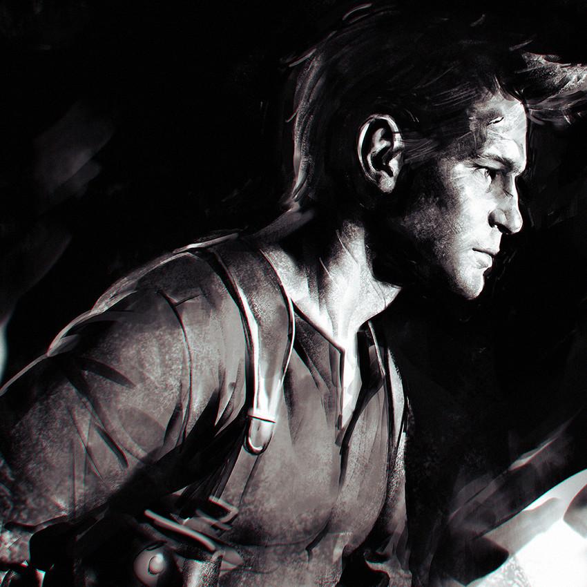 Nathan Drake Uncharted 4 Drawn By Ilya Kuvshinov Danbooru