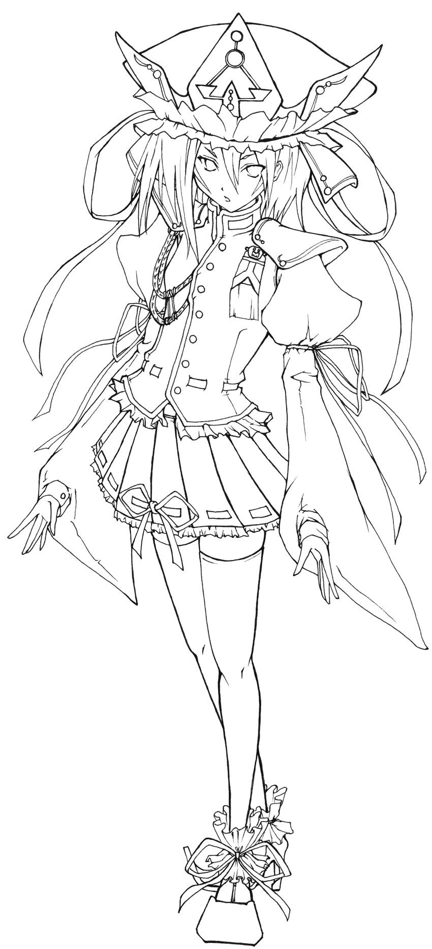 shiki eiki (touhou) drawn by suzushoku hiro