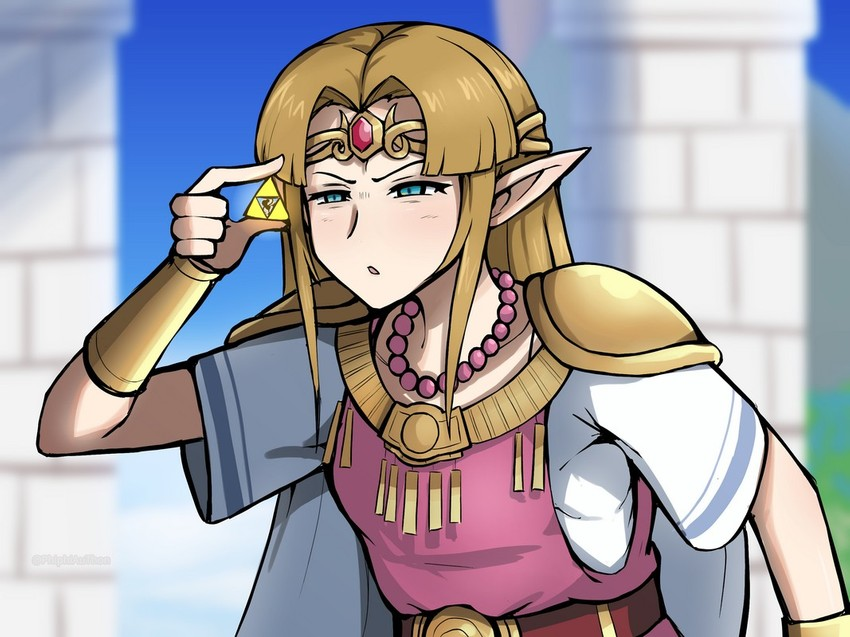 Princess Zelda And Mr Game Watch The Legend Of Zelda And