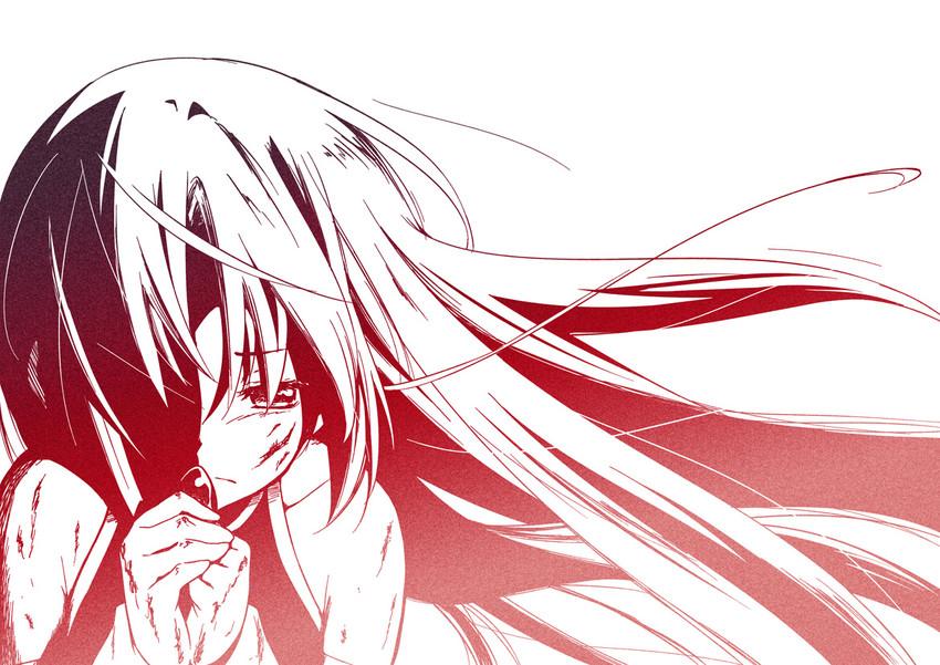 sakura kyouko (mahou shoujo madoka magica) drawn by errant
