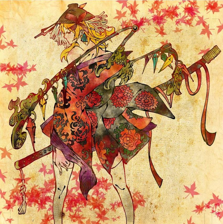 flandre scarlet (touhou) drawn by shimanoko