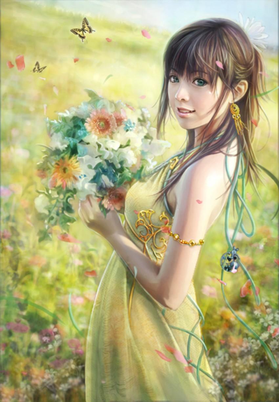 Рисунок весна и все ей рады 6