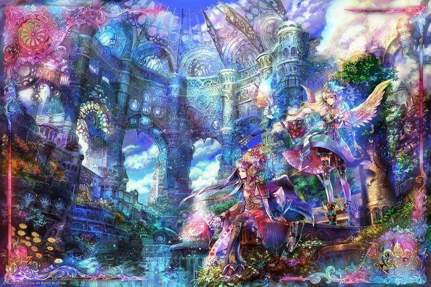 original drawn by munashichi and yuu (arcadia)