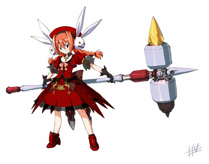 graf eisen and vita (lyrical nanoha and mahou shoujo lyrical nanoha strikers) drawn by wadatsumi garland